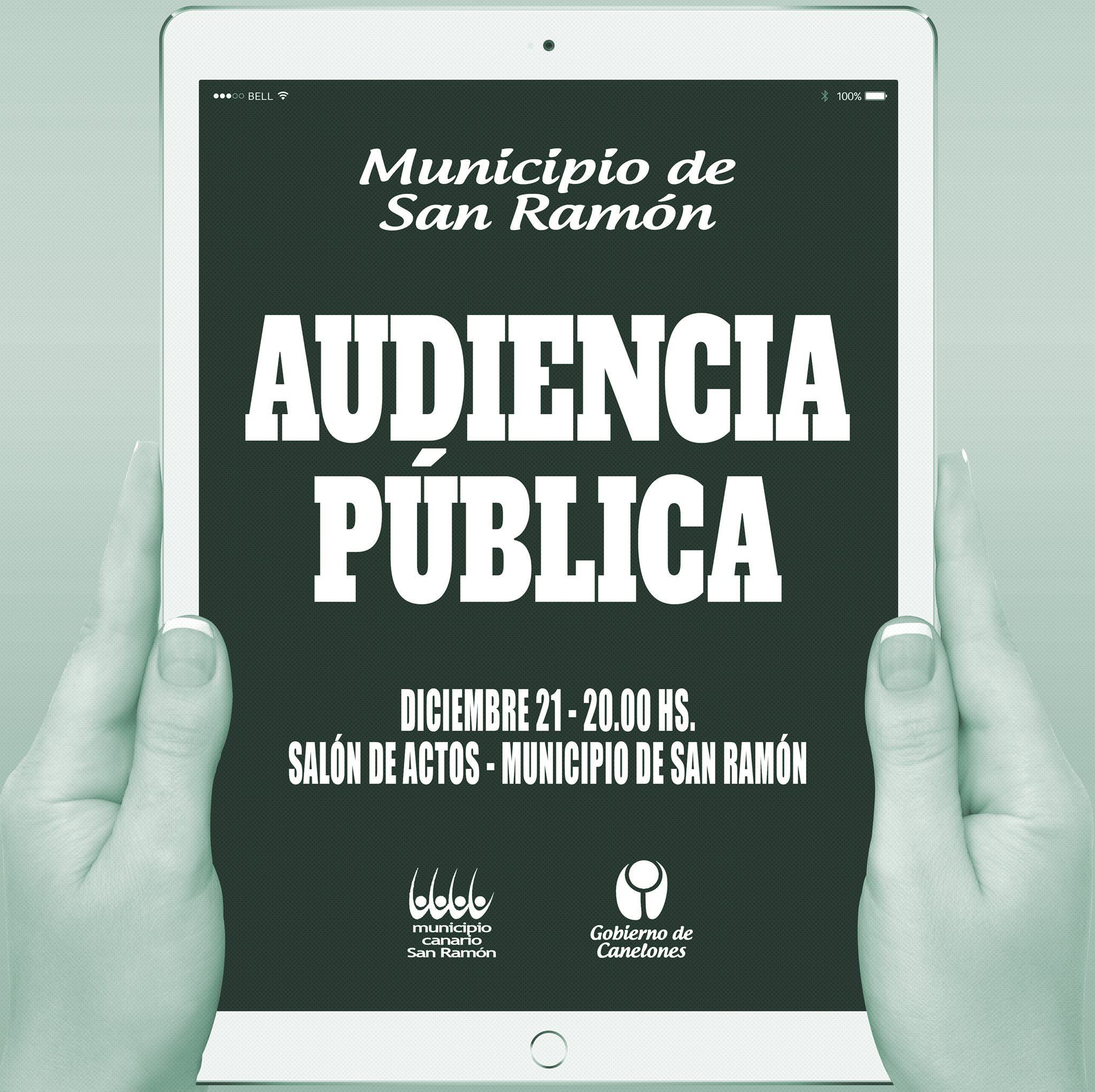 AFICHE AUDIENCIA PUBLICA