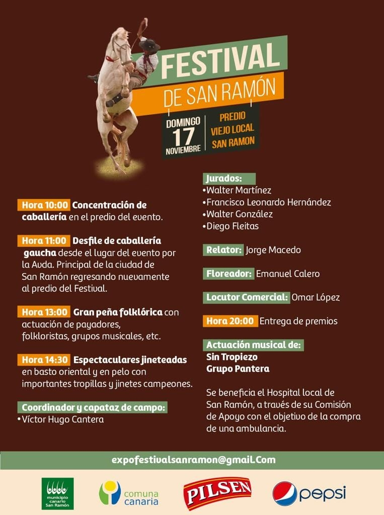 FESTIVAL DE SAN RAMON