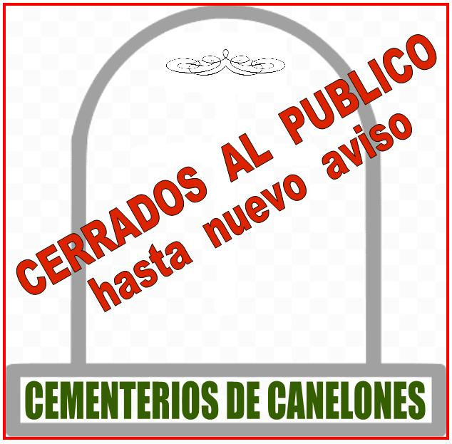CEMENTERIO DE SAN RAMON CERRADO AL PÚBLICO