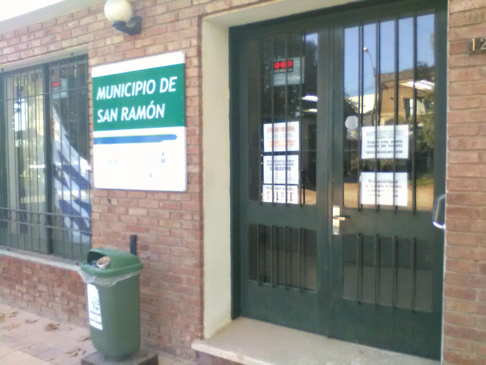 LOCAL DEL MUNICIPIO SAN RAMON