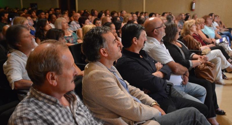 Autoridades Departamentales en Politeama con Braulio