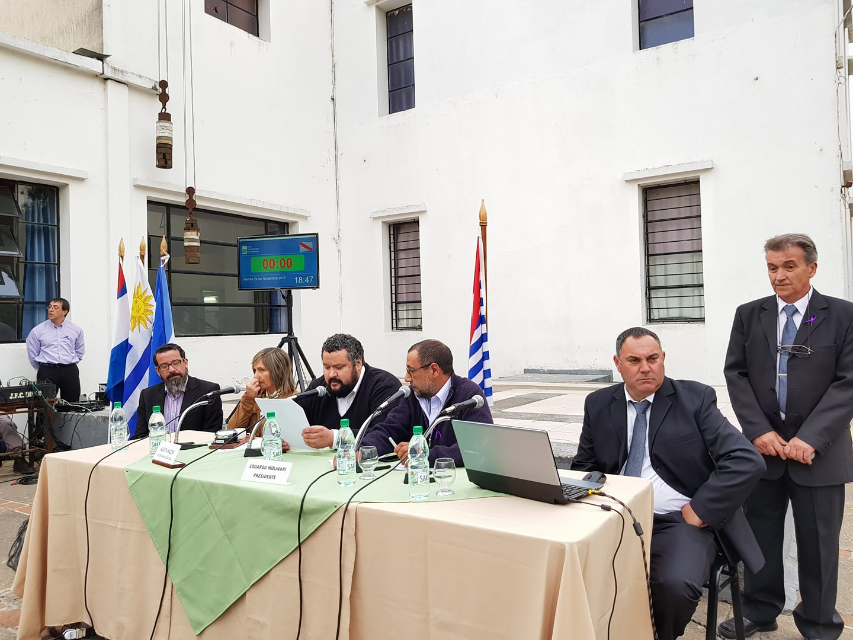 SESION DE JUNTA DEPARTAMENTAL EN SAN RAMON