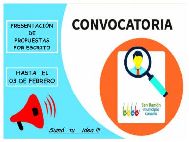 CONVOCATORIA MUNICIPIO SAN RAMON