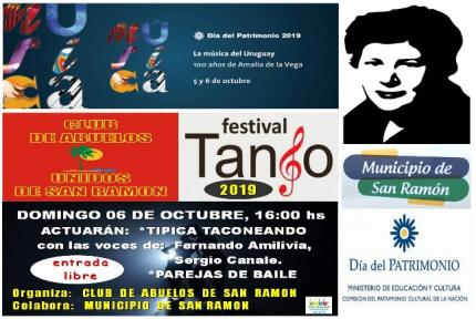 FESTIVAL DE TANGO SAN RAMON